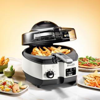 MultiFry FH 1394 Fettarme Heißluft-Fritteuse und Multi-Cooker in einem. Die erste mit Ober- und Unterhitze.