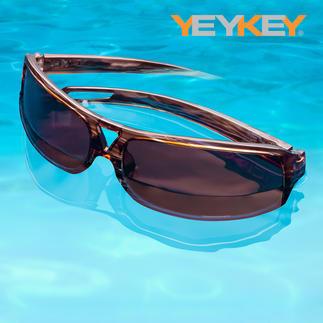Schwimmfähige Sonnenbrille Ultraleicht. Enorm bequem. Und schwimmfähig.