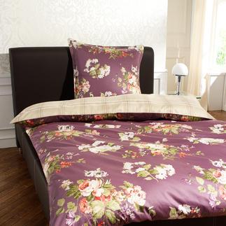 """Laura Ashley """"Rosemoor"""" Stepp-Plaid oder Bettgarnitur Die elegante Liaison zweier Design-Ikonen gibt dem berühmten Blumenmuster modernen Chic."""