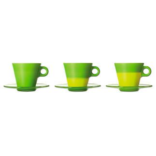 Magische Latte Macchiato Becher oder Magische Cappuccino Tassen Beim Einschenken von Heißem verändern diese Tassen ihre Farbe. Ausgezeichnet mit zahlreichen Designpreisen.