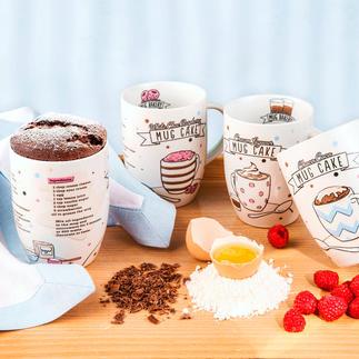 Mug Bakery Trendige Tassenkuchen: ruck zuck in der Mikrowelle gebacken und direkt in der Tasse serviert.