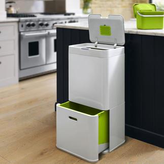 """Mülltrenn-System """"Intelligent Waste"""", 60 l Eine komplette Mülltrennstation in einem platzsparenden Container."""