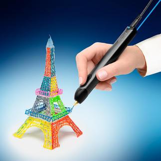 3D Stift Der weltweit erste Stift zum 3D-Zeichnen. Zeichnen Sie dreidimensionale Objekte einfach direkt in die Luft.