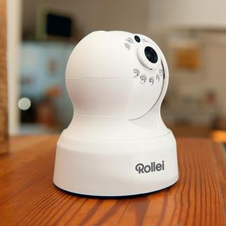 Rollei Safety-Cam Indoor Ihr Zuhause im Blick. Von überall auf der Welt. Per Smartphone, Tablet, PC.