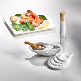 """SalzAuster """"Fleur de Sylt"""", 3-teilig Eine kulinarische Rarität: Meersalzblüte aus der Nordsee."""
