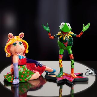 Pop Art Muppet The Muppets: die Stars der Show als Kunstobjekte von Romero Britto. Handbemalt im fröhlich bunten Pop-Art-Stil. Jedes einzigartig.