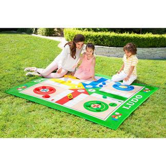 XXL-Spielteppiche Die beliebtesten Brettspiele – jetzt im XXL-Format. Spaß & Unterhaltung für die ganze Familie – drinnen & draußen.
