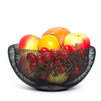 Luftige Obstschale Trendiges Design hält Ihr Obst, Ihr Gemüse luftig und länger frisch.