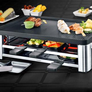 WMF Kombi-Raclette LONO Design-Highlight und Multitalent. Raclette, Tischgrill und Crêperie in einem eleganten Gerät.