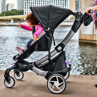 Origami™ Komfort-Kinderwagen/-Buggy Der erste elektrisch faltbare Kinderwagen der Welt. Auf Knopfdruck.