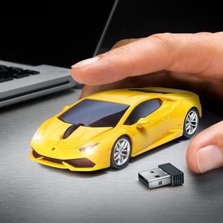 Wireless Car Mouse Eyecatcher auf Ihrem Schreibtisch: Die Funkmaus im Sportwagen-Design. So macht die Arbeit am PC viel mehr Spaß.