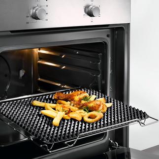 Noppen-Backmatte Rundum knusprige Bräune wie vom Grill. 548 Silikon-Noppen sorgen für optimale Luftzirkulation.