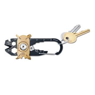20-in-1 Mini-Tool Ihr Werkzeugkasten am Schlüsselbund. 20 (!) vollwertige Tools auf kleinstem Raum. Jederzeit griffbereit.