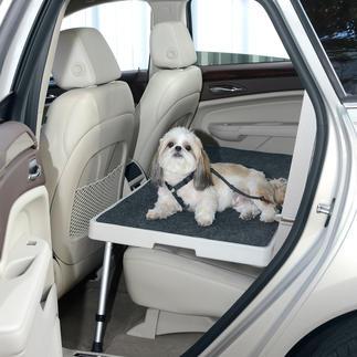 Dog Deck Geräumig, kippfrei, stabil. Endlich ein sicherer Platz für Ihren Hund auf der Rückbank. Und für Einkäufe, Kartons, ...