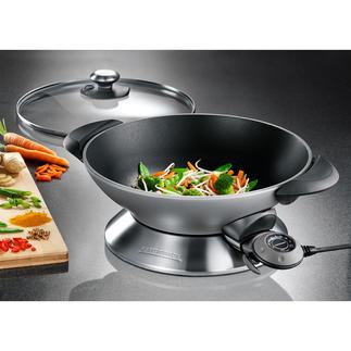 Gastroback Elektro-Wok Advanced Pro Größer, schneller, heißer. Design- und Produktqualität von Profi-Ausstatter Gastroback.
