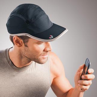 Fitness-Track Fitness-Tracking, praktisch wie nie: integriert in schattenspendende Kappen.