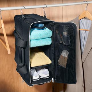 Fitnessbag zum Aufhängen Übersicht und Ordnung wie im Kleiderschrank. Die leichte, handliche Fitnessbag zum Tragen, Schultern und als Hängeregal.