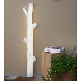 Baumstamm-Leuchte Fast wie aus dem Zauberwald. Scheint von verwunschenem Licht durchflutet. Ein Blickfang in jedem Raum.