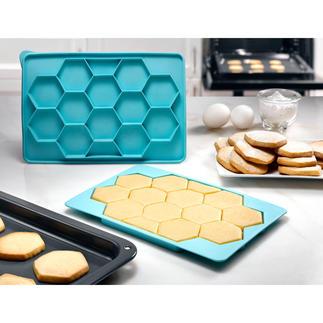 Cookie Master 12 Cookies amerikanischer Art – schnell und einfach wie nie. Multifunktionale Silikonform zum Formen und Einfrieren.