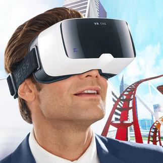 ZEISS VR ONE Brille inkl. Handyslot Das bessere 3D-Erlebnis: Headtracking und 100°-Sichtfeld (statt oft nur 45°).