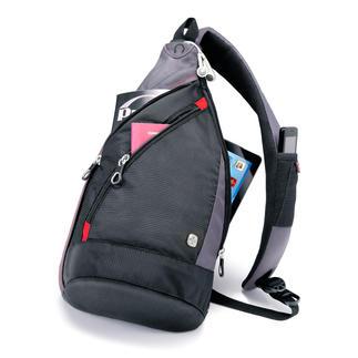 Wenger Schultertasche Praktischer als eine Tasche. Handlicher als ein Rucksack. Die leichte Schultertasche von Wenger.