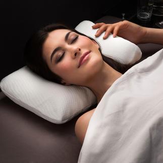 Visco-Cool-Reisekissen Genießen Sie auch auf Reisen tiefen, erfrischenden Schlaf in heißen Nächten.