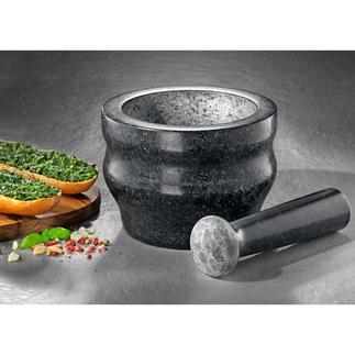 Cole & Mason Granitmörser Gewürze schnell und besonders aromaschonend zerkleinern. Im Profi-Mörser aus massivem Granit.
