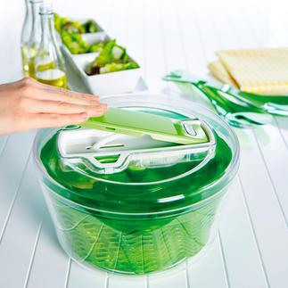 Zyliss® Salatschleuder Die bessere Salatschleuder: entzieht bis zu 25 % mehr Wasser. Schonend.