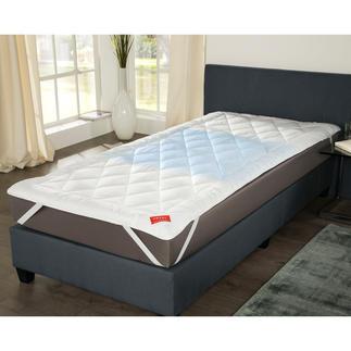 Hefel Cool Unterbett Erfrischt schlafen – sogar bei 30 °C: das Stepp-Unterbett mit genialem Cool Vlies.