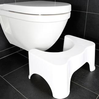 Toilettenhocker Hoca Hocken statt sitzen: Hoca gibt Ihnen auf dem WC die optimale, natürliche Haltung.