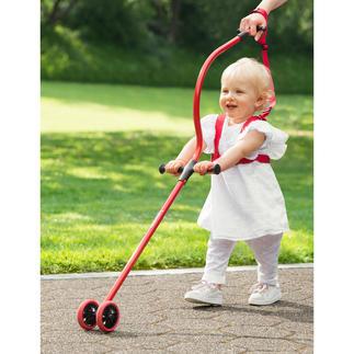 Lauflernhilfe Niniwalker® Die patentierte Lauflernhilfe für eine gesunde Körperhaltung von Eltern und Kind.