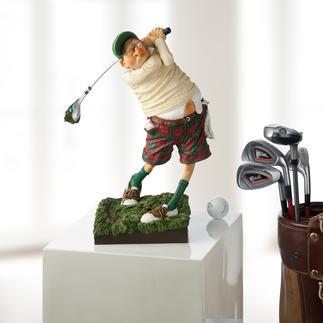 """Forchino Figur """"Golfer"""" Die Kunst, die Leidenschaft Golf amüsant aufs Korn zu nehmen."""