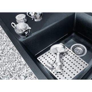 Silberglanz-Reinigungsplatte Kein Polieren, keine Chemikalien: Geniale Idee schafft strahlenden Silberglanz in Sekundenschnelle.
