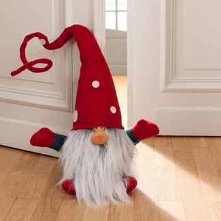 Weihnachtswichtel Julenisse Im Entree, auf der Treppe, im Wohn- oder Esszimmerzimmer, ... Auch als Türstopper.