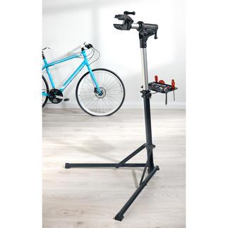 Klappbarer Fahrrad-Montageständer Jetzt warten, reinigen und reparieren Sie Ihr Bike einfach und bequem: Stufenlos höhenverstellbar und 360° schwenkbar.
