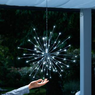 """Leuchte """"Eiskristall"""" Blitzenden Eiskristallen gleich setzen 60 LEDs und 30 zierliche Blinker einen märchenhaften Akzent im Astwerk."""