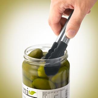 Mini-Verschlusszange Die Küchenzange im Mini-Format: Perfekt für Konservendosen und -gläser.