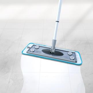 3-in-1-Bodenwischer, 4-teiliges Set Der bessere Bodenwischer: reinigt trocken und feucht. Schrubbt. Und zieht ab.