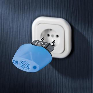 Antimilben-Stecker Eliminiert die Allergie-Erreger durch Ultraschall. Sauber, sicher und selbsttätig.