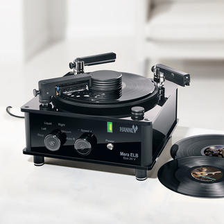 """Schallplatten-Waschmaschine Mera ELB Eco 24 V Das Nonplusultra der Schallplatten-Wäsche. Hightech """"made in Germany""""."""