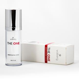 """""""The One"""" Gesichtspflege Wachstumsfaktoren: Das Geheimnis der Hautregeneration. """"The One"""" beugt der Faltenbildung vor."""
