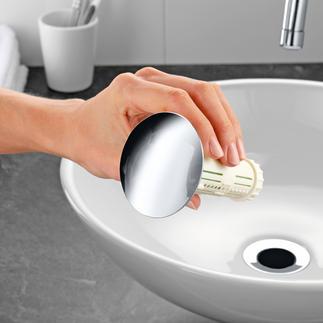 Abfluss-Fee Freier Abfluss mit frischem Duft. Stöpsel mit hochaktivem Wirkstoffkern gegen Ablagerung von Haaren, Flusen, Seifenresten, ...