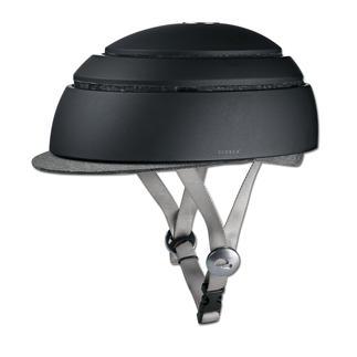 Fahrradhelm Closca™ Fuga Zusammengelegt unglaubliche 6 cm flach. Mit einem Handgriff entfaltet sich der Closca™ Fuga zu einem Fahrradhelm.