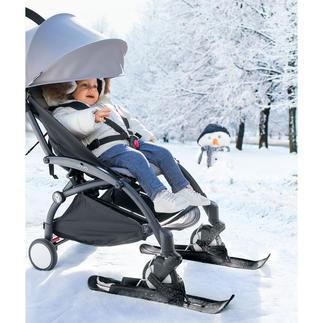 Kinderwagen-Skier Statt schwer schieben leicht gleiten. Bisher nur in Schweden, jetzt auch in Deutschland erhältlich.