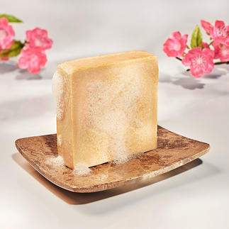 Hautmilchseife, 2er-Set, 2 x 125 g Die Essenz Jahrtausende bewährter Schönheitspflege. Verwöhnt wie ein luxuriöses Bad in Milch.