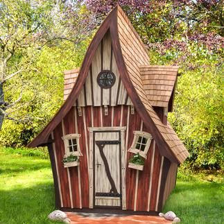 Märchenhaftes Gartenhaus, schlüsselfertig Ihre zauberhafte Idylle - wie im Märchen: schlüsselfertig gebaute Holzgartenhäuser mit allem Drum und Dran.