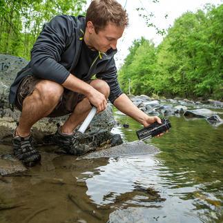 Wasserfilter-Flasche LifeStraw® Go Sauberes Wasser in Sekunden. Überall. Beim Trekking, auf Fernreisen, Dschungeltour, ...