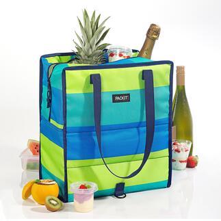 Kühltasche PACKiT® Hält bis zu 5-mal länger kalt als herkömmliche Kühltaschen.