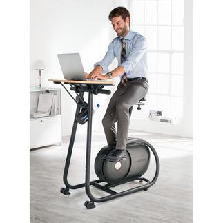 """Design-Fahrradtrainer """"Citta"""" Stylisch genug fürs Wohnzimmer. Praktisch genug fürs Büro."""