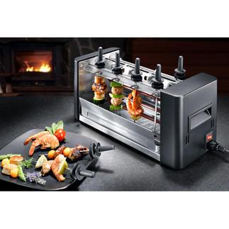 Stöckli easyGrill Fun-Cooking neuester Stand: der geniale easyGrill für drinnen und draußen. Ohne Rauch.